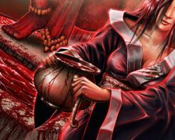 L5r art - Blood of the preserver exp by HectorHerrera