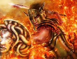 Perseus - Guerra de Mitos by HectorHerrera