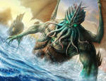 Cthulhu - Guerra de Mitos by HectorHerrera