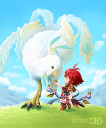 Hinoka, true bonds by HectorHerrera