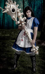 Alice Madness Returns Knightmare Hobby Horse by AnimeGeer