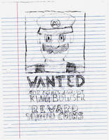 Wanted: Mario 'Jumpman' Mario by UrLogicFails