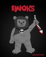 Ewoks by UrLogicFails