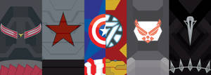 Captain America: Civil War Phone Background by UrLogicFails