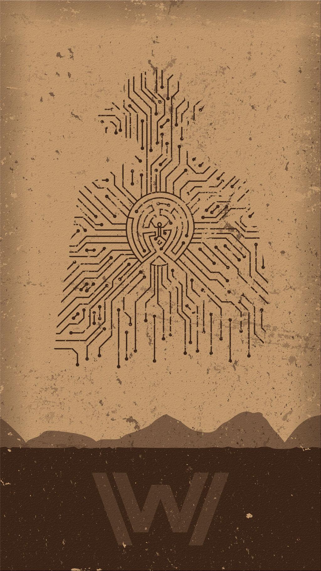 Westworld Phone Background by UrLogicFails