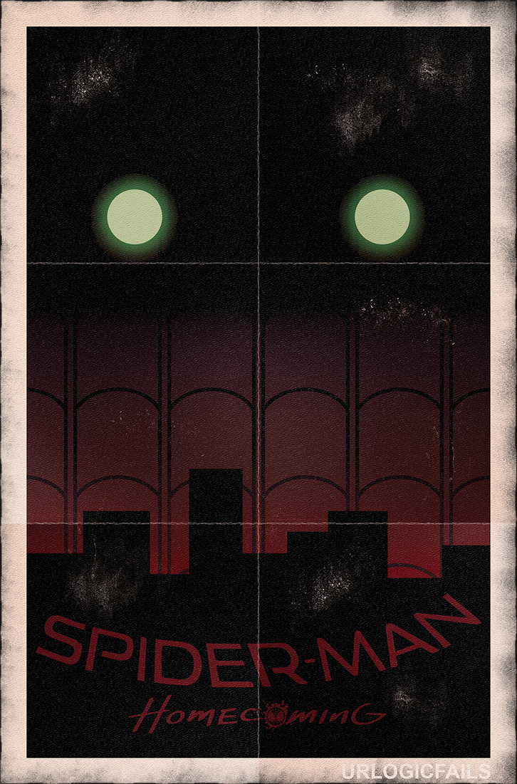 Spider-Man: Homecoming Poster by UrLogicFails