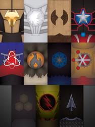 CW Legends of Tomorrow by UrLogicFails