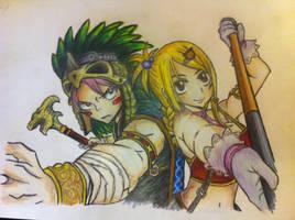 Natsu x Lucy by Sevoarin