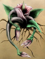 Evil Plant 1 - Corpse Flower by Waterbear