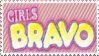 Girls Bravo Stamp by MrsHighwind
