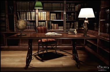 Library by Serdarakman