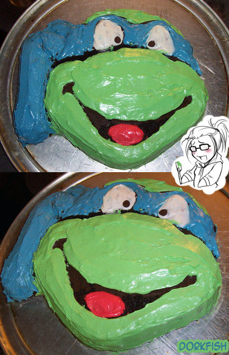 Tmnt I Maked A Cake Yo By Applejack On Deviantart