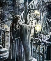 A lament for gandalf by Artofjuhani