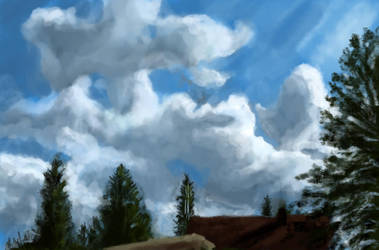 Clouds by Artofjuhani