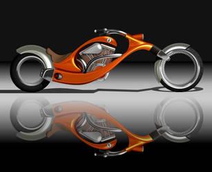 Motorbike by lazunov