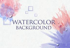 Watercolor Background by lazunov