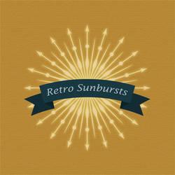 Tons of Unique Retro Sunbursts by lazunov