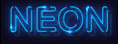 Neon Text Effect by lazunov