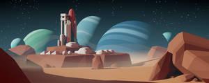 Planets by Mezaka