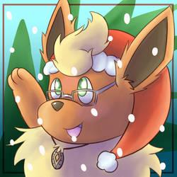 Xyvier Christmas Icon by Fennie-Art