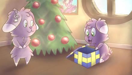 A Christmas morning by Fennie-Art