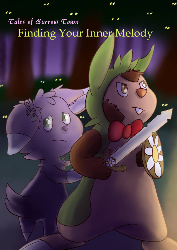 Tales of Burrow Tow: Finding Your Inner Melody by Fennie-Art
