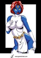 Mystique 9 by Garrett Blair by Mythical-Mommy