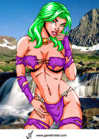 Savage Land Polaris by Mythical-Mommy