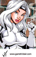 Silver Sable SC by gb2k by Mythical-Mommy