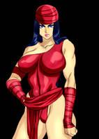 Elektra by Daikon by Mythical-Mommy