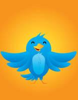 Twitter Bird by GerryButton