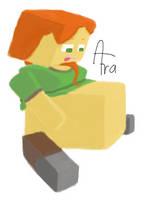 Vore: Minecraft Alex by AfraArt