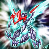Chibi Galaxy-Eyes Photon Dragon by Raphtil