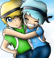 Inthelittlewood and Inthelittlefrost :3 by MrsMinnieMinnie123