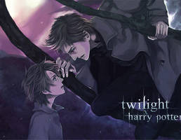 Twilight x HarryPotter by Flayu
