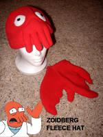Zoidberg Fleece Hat by nikkiswimmer