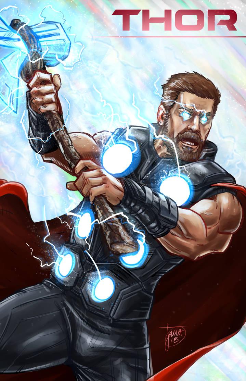 Thor Wallpaper 4k Stormbreaker Wallpapersimages Org