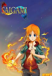 Saigami Vol.01 Cover artwork by Sen17