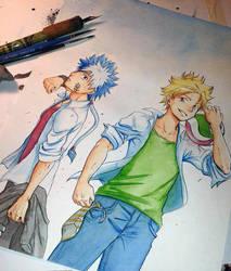 Saigami boys - school version by Sen17
