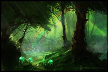 DreamForest. by Puffisen