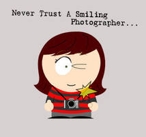 Smiling Photographer by TalentedChild