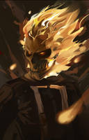 Ghost Rider by waynebridge
