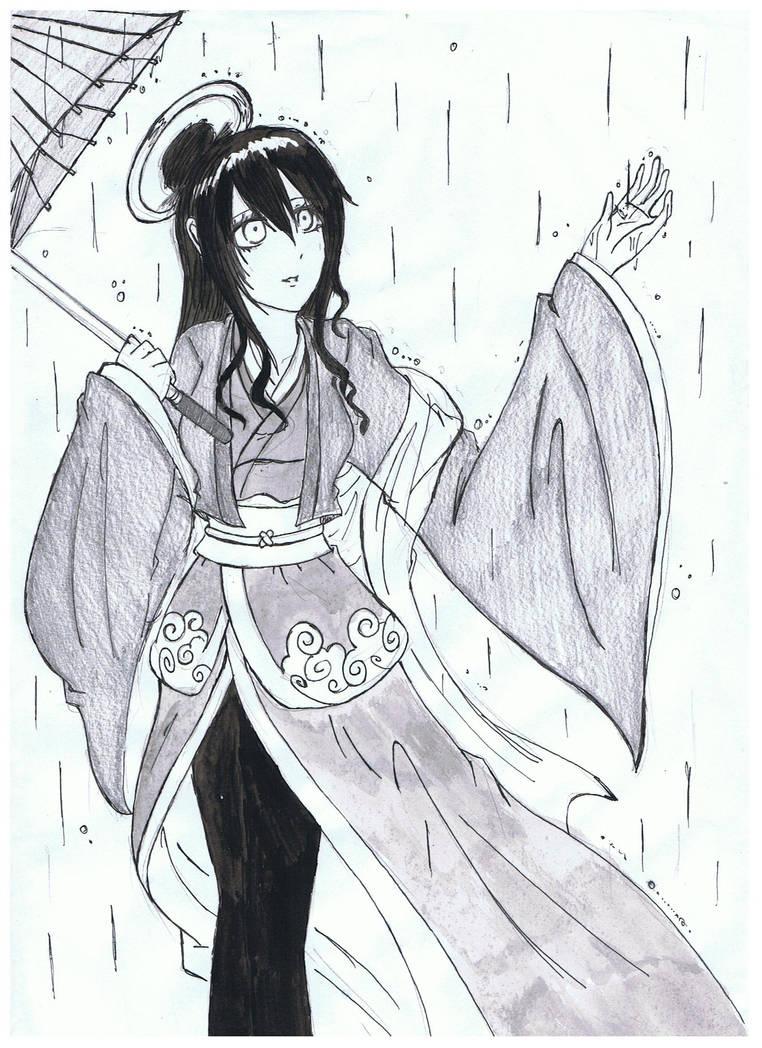 Nurarihyon no Mago OC:Ame-onna by ShinigamiNeko92 ...