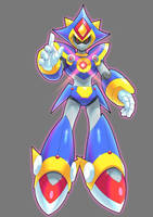 Metal Sonic X By Ultimatemaverickx by V-a-a-N