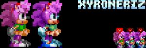 Sonic Mania - Amy Rose by Xyroneriz