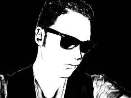 Rockabilly Portrait. by Dramo