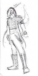 Sketch Idea: Human Elementalist by poplite