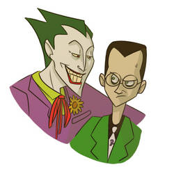 Joker likes to do the creep by poplite