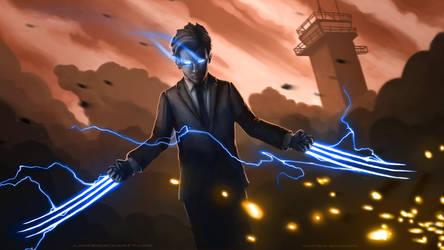 Doberman-Battle by StudioSolo