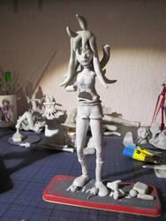 WIP Anna (Debaser) by RodinPandarex